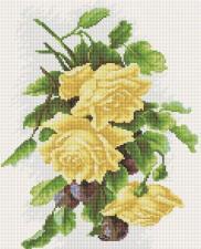 Алмазная мозаика Чайные розы