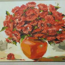 """Картина по номерам готовая работа - """"Осенний букет"""" 40х50 см"""