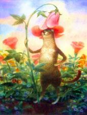 Картины по номерам Коты худ. Владимира Румянцева