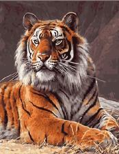 """Картина по номерам 40Х50 """" Тигр"""""""